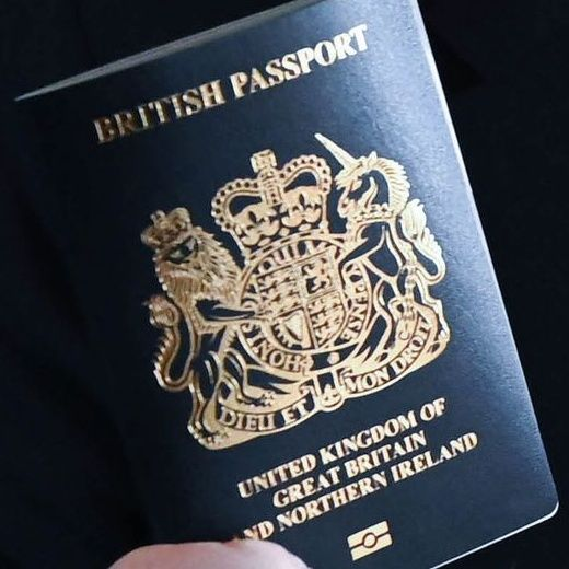 The British Passport goes from Red to Blue