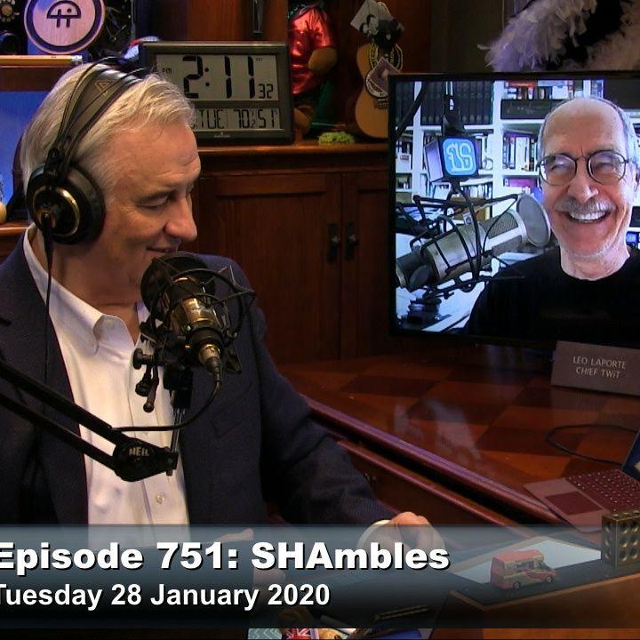 SN 751: SHAmbles