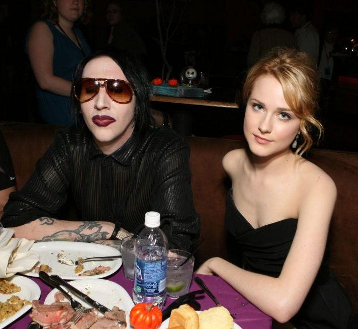 Marilyn Manson's Label Drops Him Amidst Allegations From Actress Evan Rachel Woods