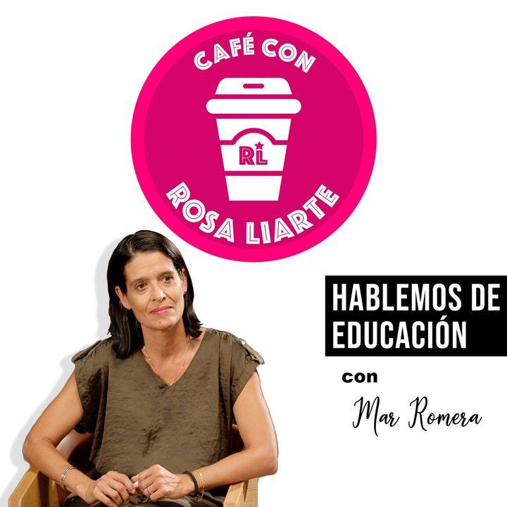 """3 - Café con Mar Romera - """"Hay que aprender en silencio"""""""