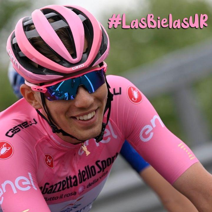 La Rosa del Giro en un húngaro por primera vez