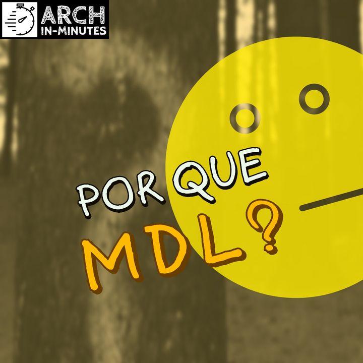 Por que utilizar MDL ao invés de UML?
