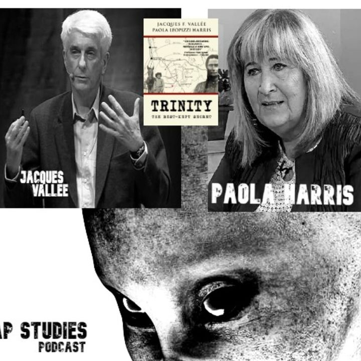 Ep 54 Jacques Vallee and Paola Harris