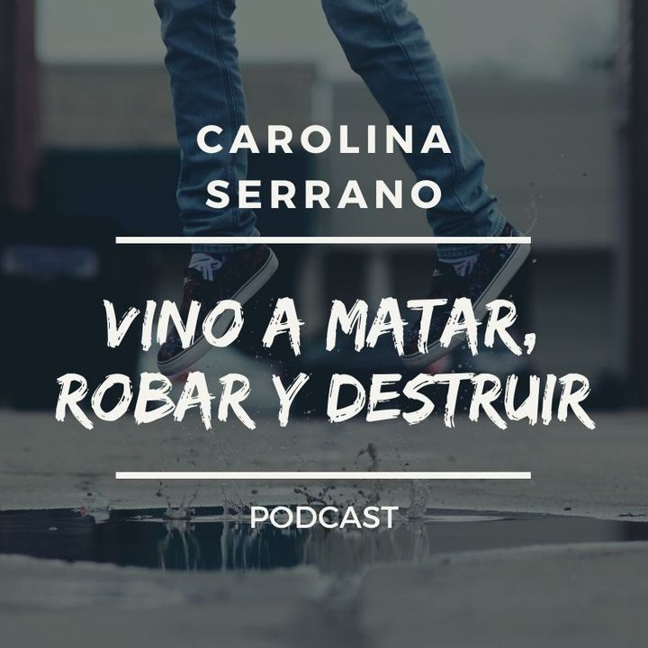 VINO A MATAR, ROBAR Y DESTRUIR