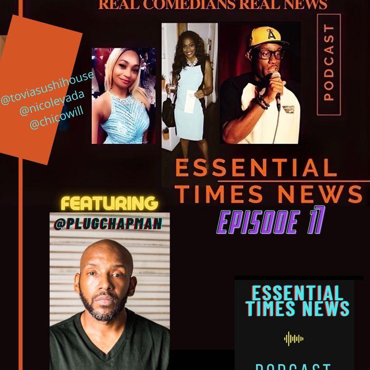 Episode 17: Plug Chapman 'Real News - Real Comedians'