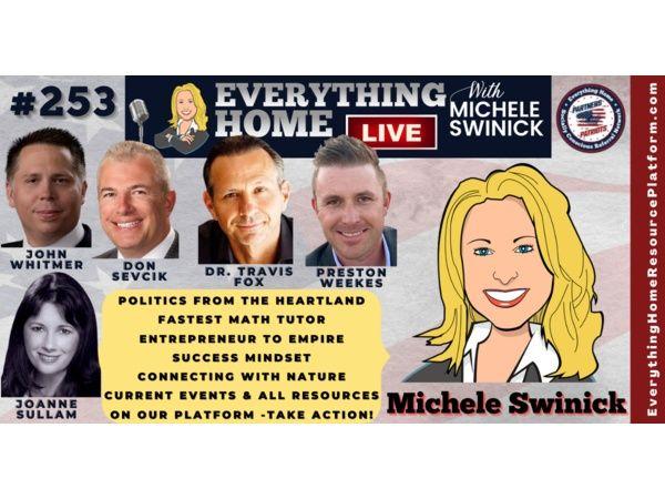 253: Politics, Math Tutor, Business Tips, Mindset, Nature, Take Action Resources