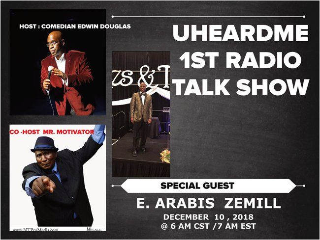 Uheardme 1ST RADIO TALK SHOW- Poetic Jazz Artist Zemill