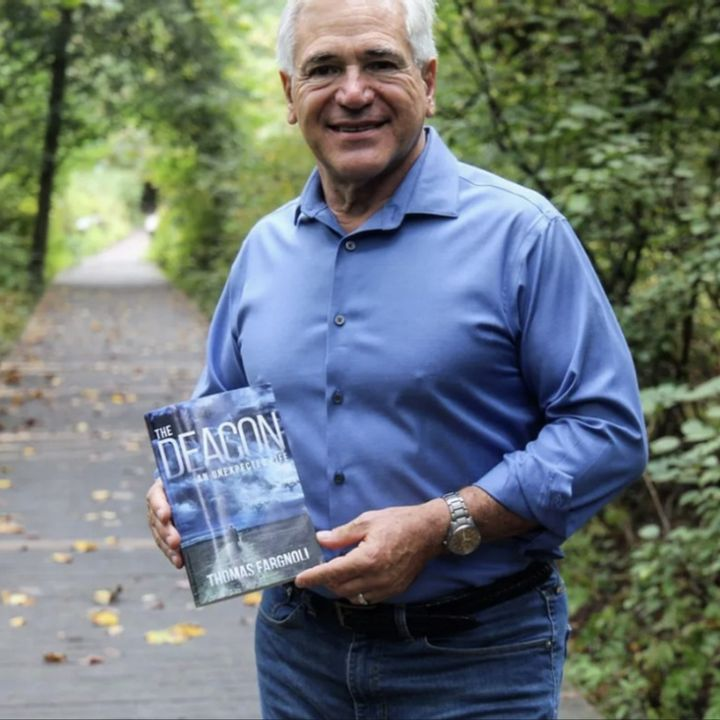 """New Jersey  author Thomas Fargnoli is my special guest talking about his book """"The Deacon An Unexpected Life""""!"""