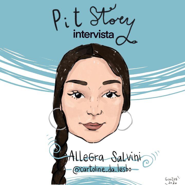 Intervista con Allegra Salvini (@cartoline_da_lesbo) - PitStory Podcast Pt. 66
