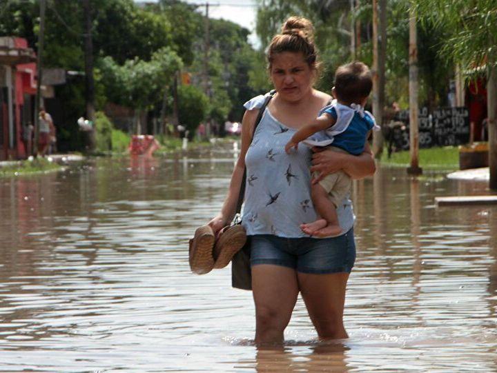 Desplazamiento por desastres naturales