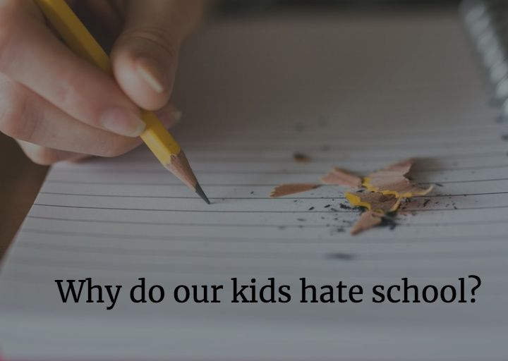128: Why do kids hate school and what can we do about it? Hack Learning Uncut
