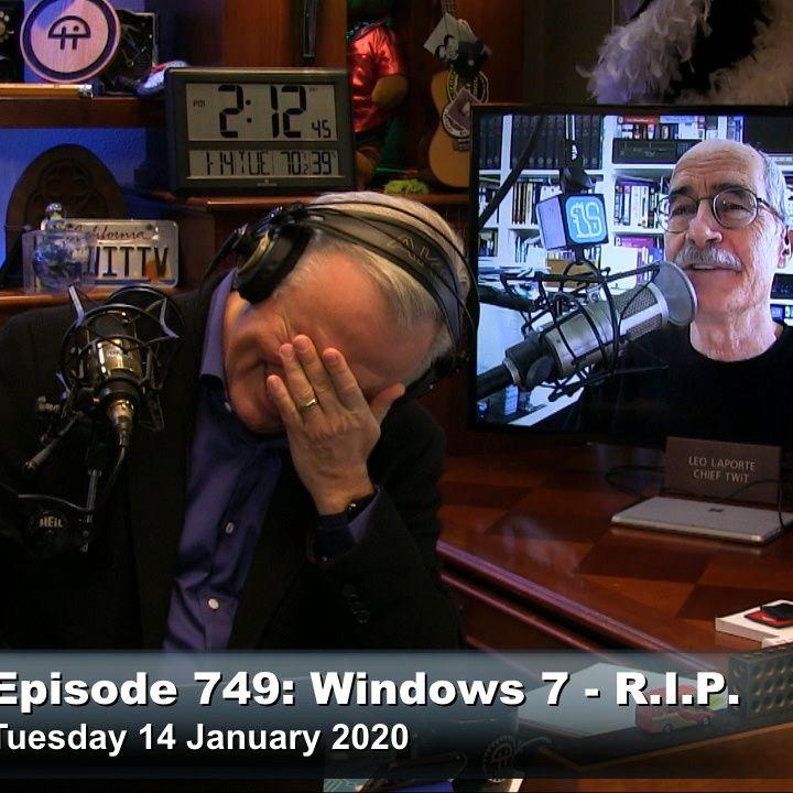 Security Now 749: Windows 7 - R. I. P.