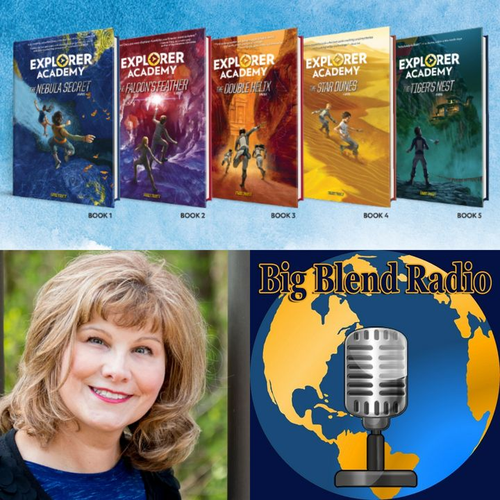 Nat Geo Kids Explorer Academy Book Series - Trudi Trueit on Big Blend Radio