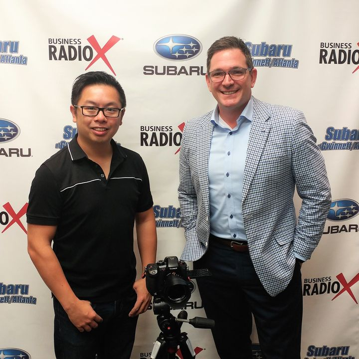 Martin Chan with Earth to Atlanta and Jason Neu with Action Coach