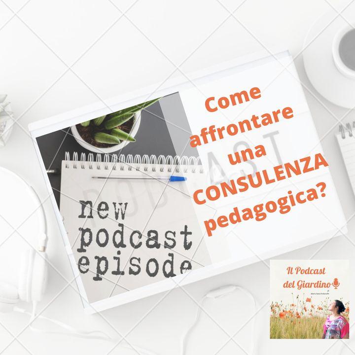 Come affrontare una consulenza pedagogica?