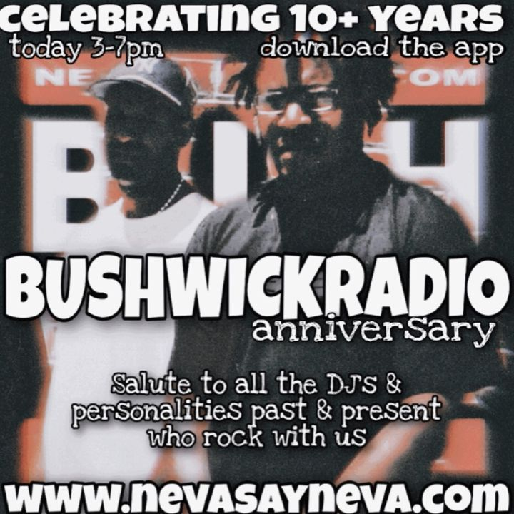 DJPRIMETIME  MIX BUSHWICK RADIO anniversary 10 +YRS