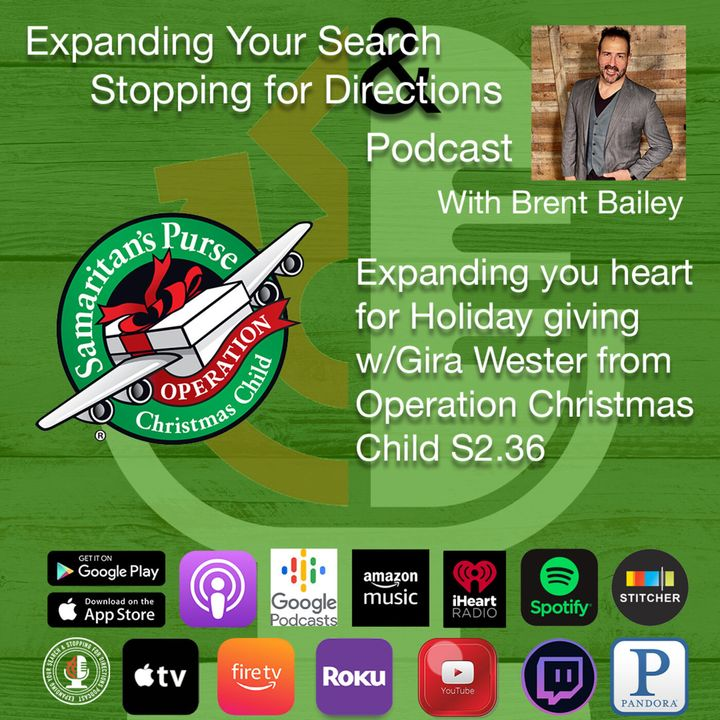 Expanding you heart for Holiday giving w/Gira Wester from Operation Christmas Child S2.36