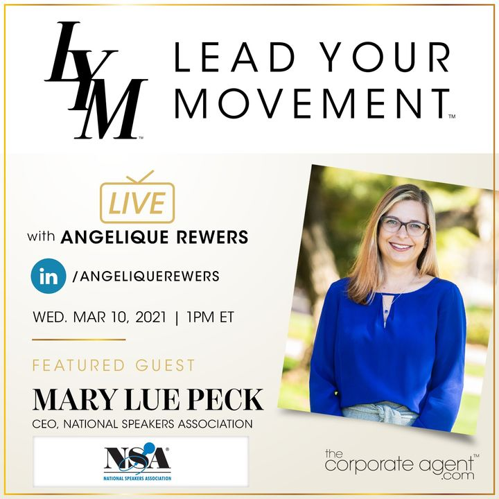 Lead Your Movement EP. 29 | Speaking Opportunities in 2021