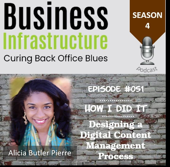 Episode 51: Designing a Digital Content Management Process with Alicia Butler Pierre