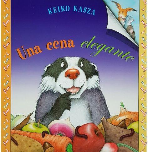 Una cena elegante, cuento infantil de Keiko Kasza