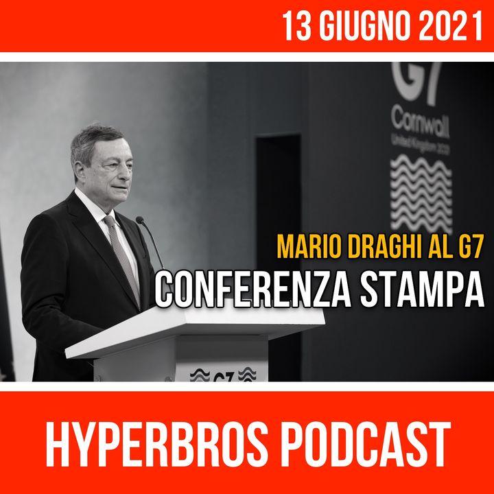 Mario Draghi al G7, la conferenza stampa integrale