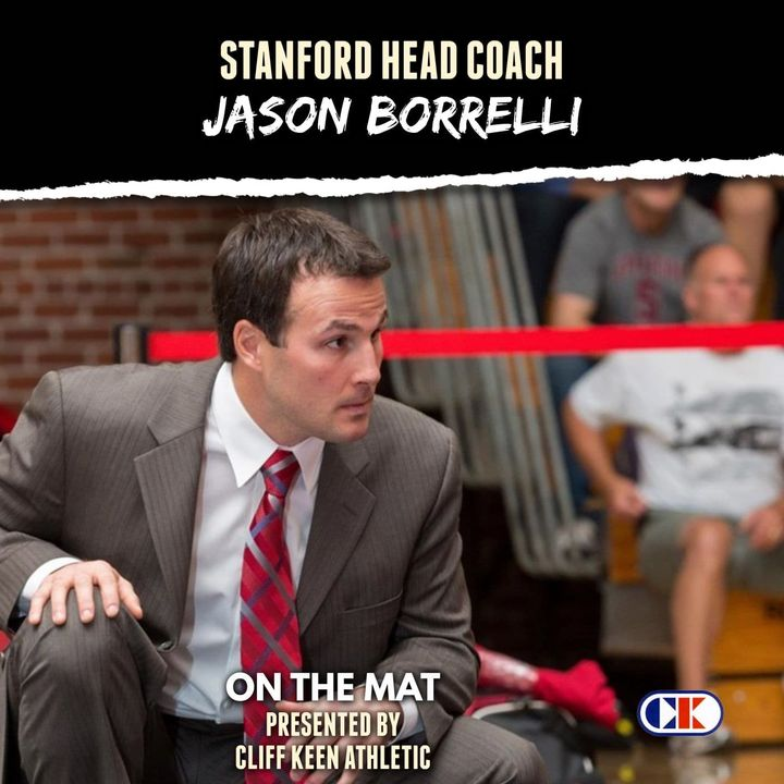 Stanford head wrestling coach Jason Borrelli - OTM619