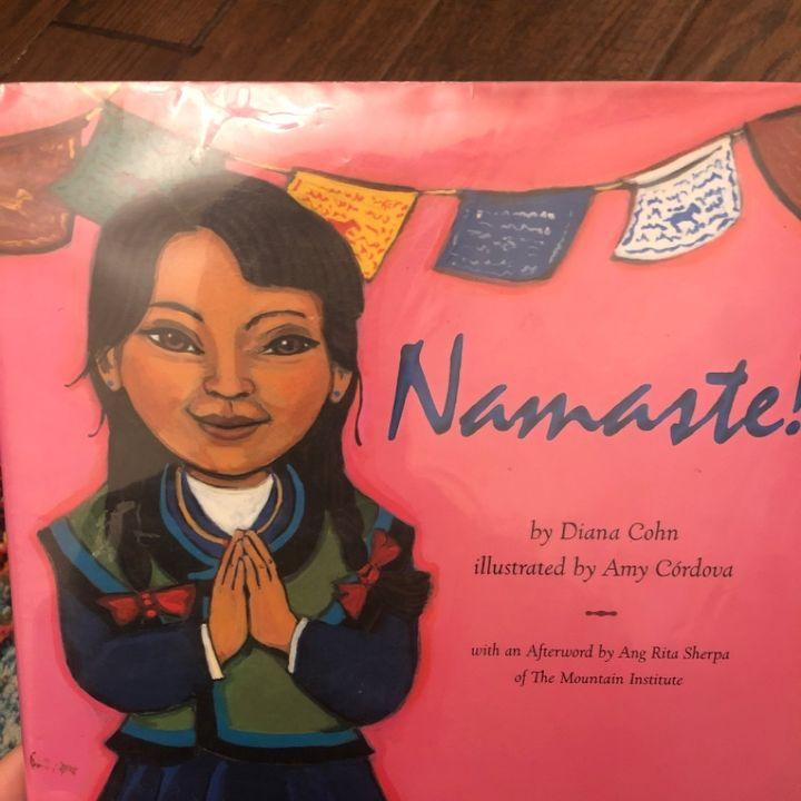 Namaste by Diana Cohn