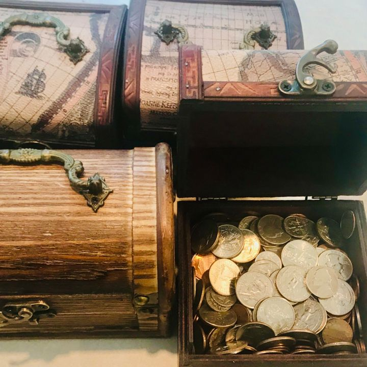 There's more treasure to be found!