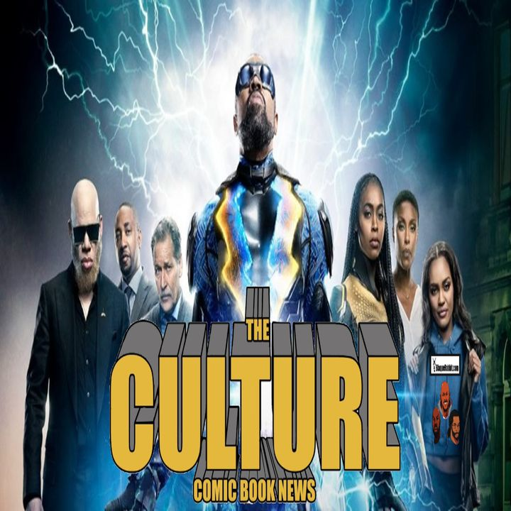 The Culture Comic Strip 2: Ain't Nothing but a Black Lightning Party