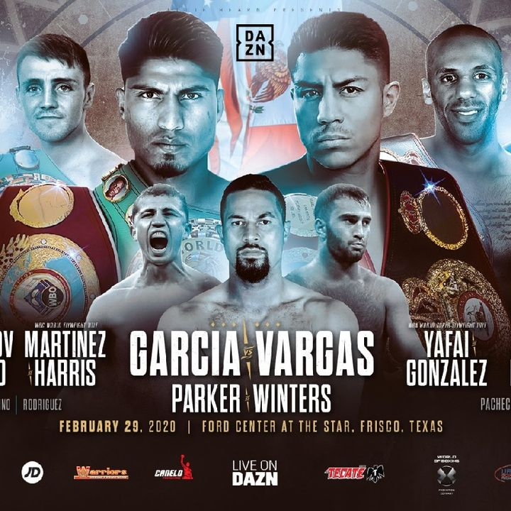 Preview Of The Big DaznUSA Card Headlined By Mikey Garcia Vs Jessie Vargas For WBC Diamond Welterweight Belt Live On Dazn And Sky Sports!!!!