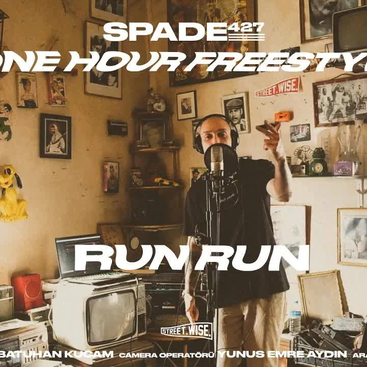 SPADE247-RUN RUN FREESTYLE