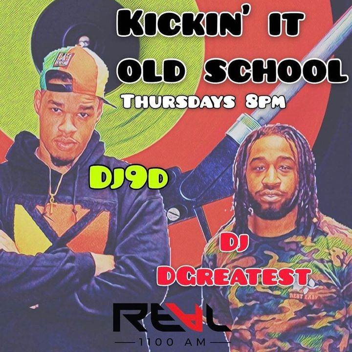 Patricia M. Goins Kicking It Old School on The Real 1100 AM -Atlanta with DJ D9, DJ Dgreatest, and Kimberly McCants