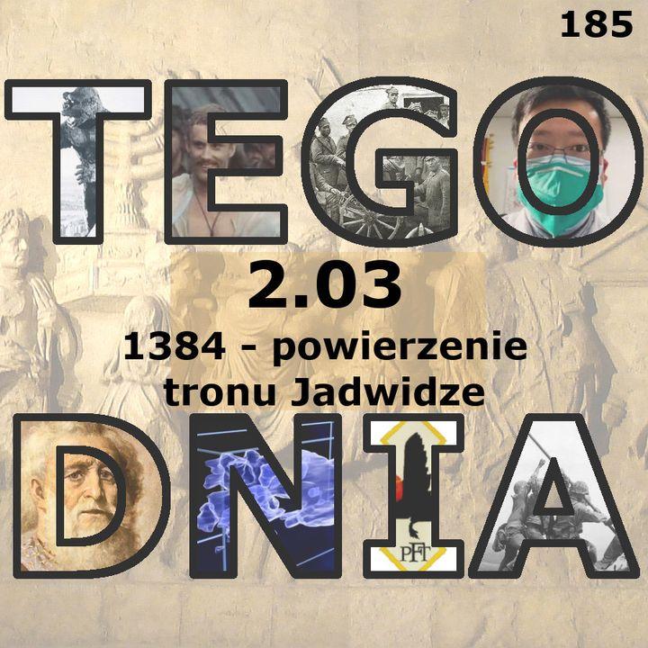 Tego dnia: 2 marca (tron dla Jadwigi)