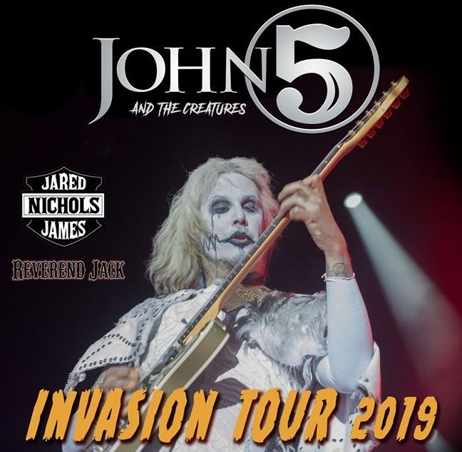 JOHN 5 AND THE CREATURES @ The Token Lounge