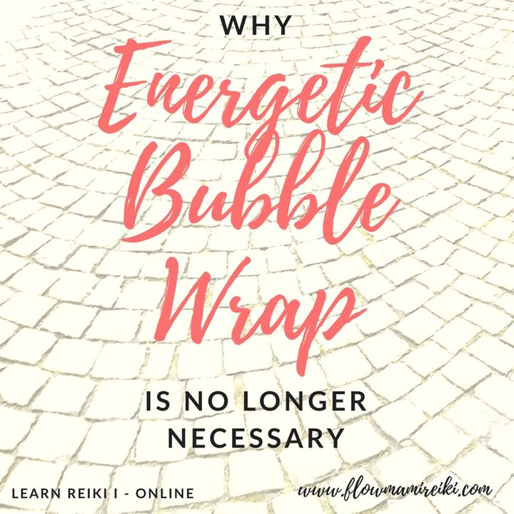 Why Energetic Bubble-Wrap is No Longer Necessary