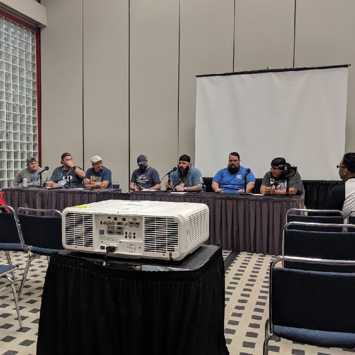 Comicpalooza 2019 - Podcast Battle Royale With Cheese, Hosted By I Am Geek: Original Star Wars Trophy Verse Prequel Star Wars Trilogy - Live