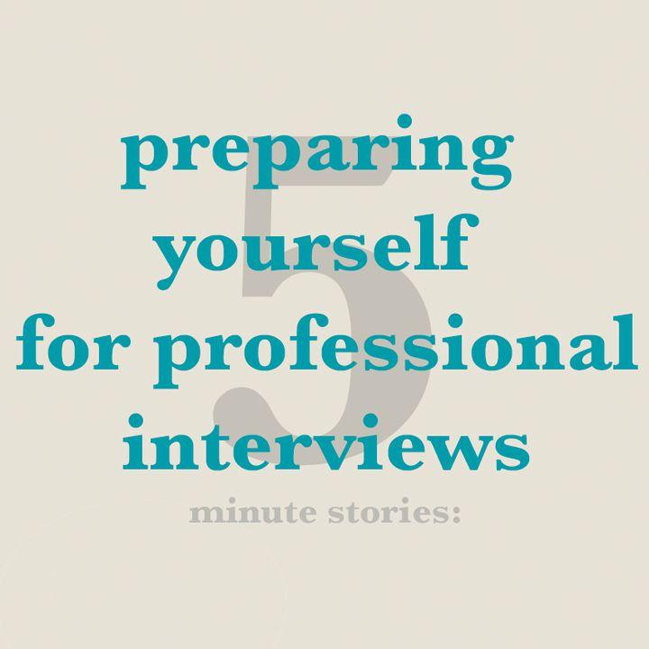 Episode 3: Preparing your professional portfolio