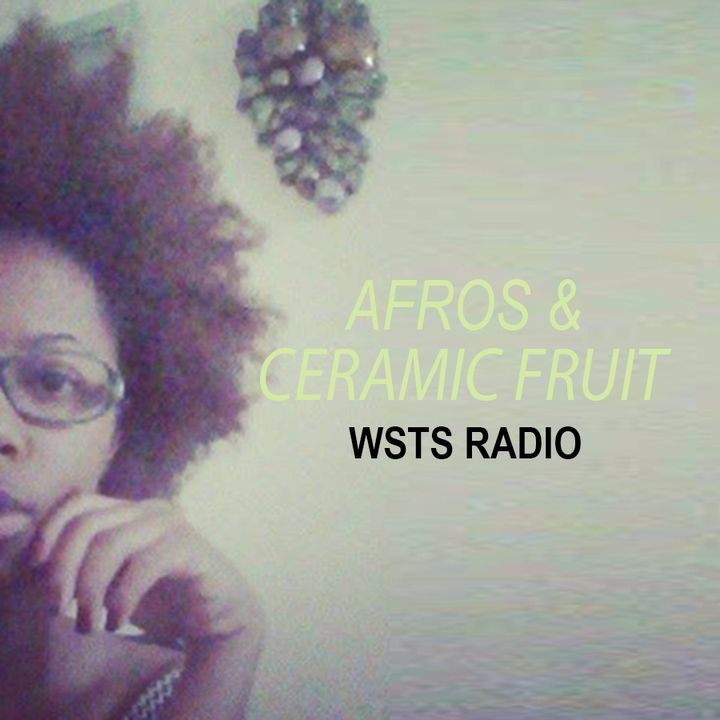 Afros & Ceramic Fruit