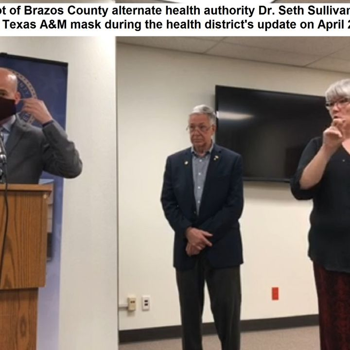 Brazos County health district update, April 27 2020