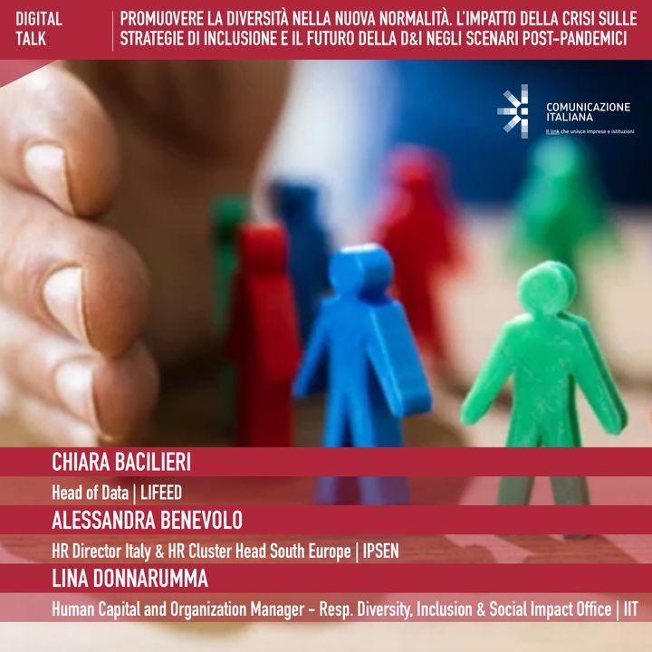 Digital Talk | Promuovere la diversità nella nuova normalità | LIFEED