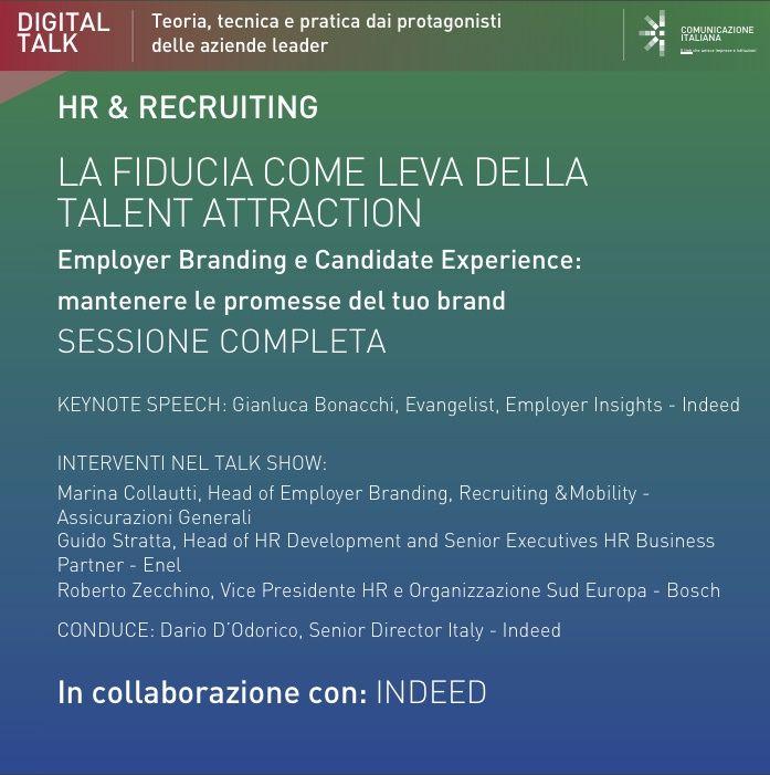 Digital Talk (sessione completa) | La Fiducia come Leva della Talent Attraction | Indeed