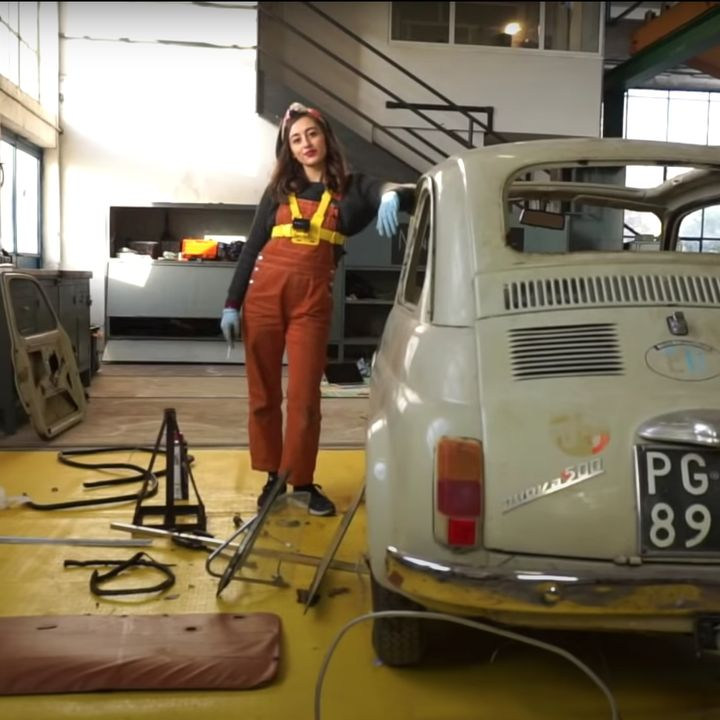 Nanna's garage, i motori sono un gioco da ragazze (di Tiziana Torrisi)