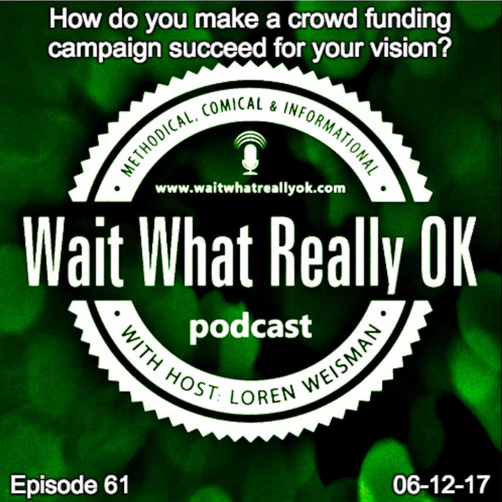How do you make a crowdfunding campaign succeed?
