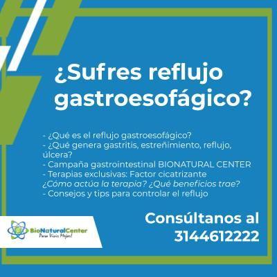 Orientación médica: Reflujo gastroesofágico
