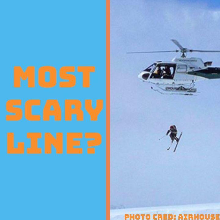 The Gnarliest Line I've Skied...