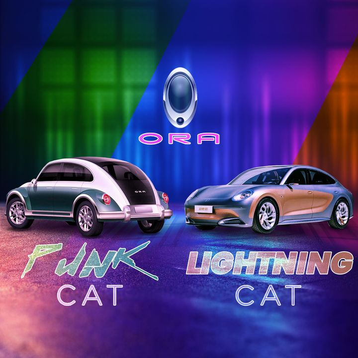 69. Ora Punk Cat & Lightning Cat EV Reveals   Shanghai Auto Show