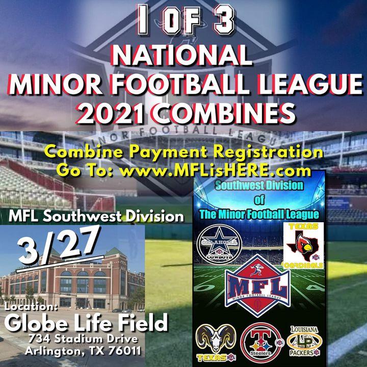 2021 Minor Football League Southwest Division Combine March 27