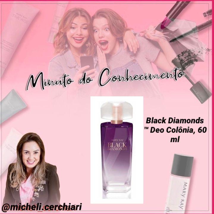 Black Diamonds™ Deo Colônia, 60 ml