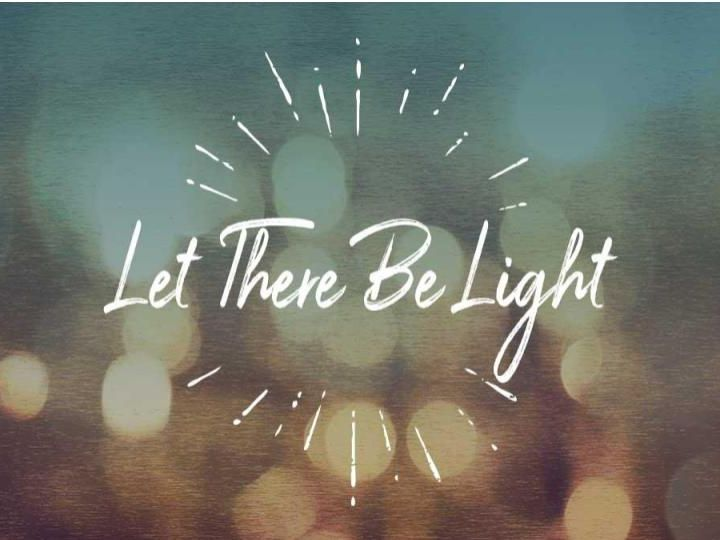 Let There Be Light! - Morning Manna #3182