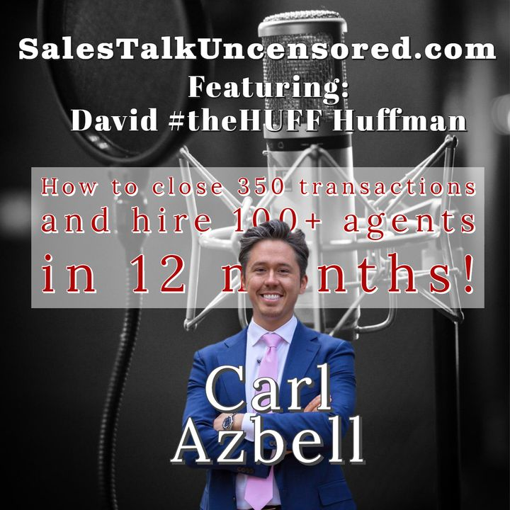 Carl Azbell takes you through how his team has closed 350 transactions in the last year.